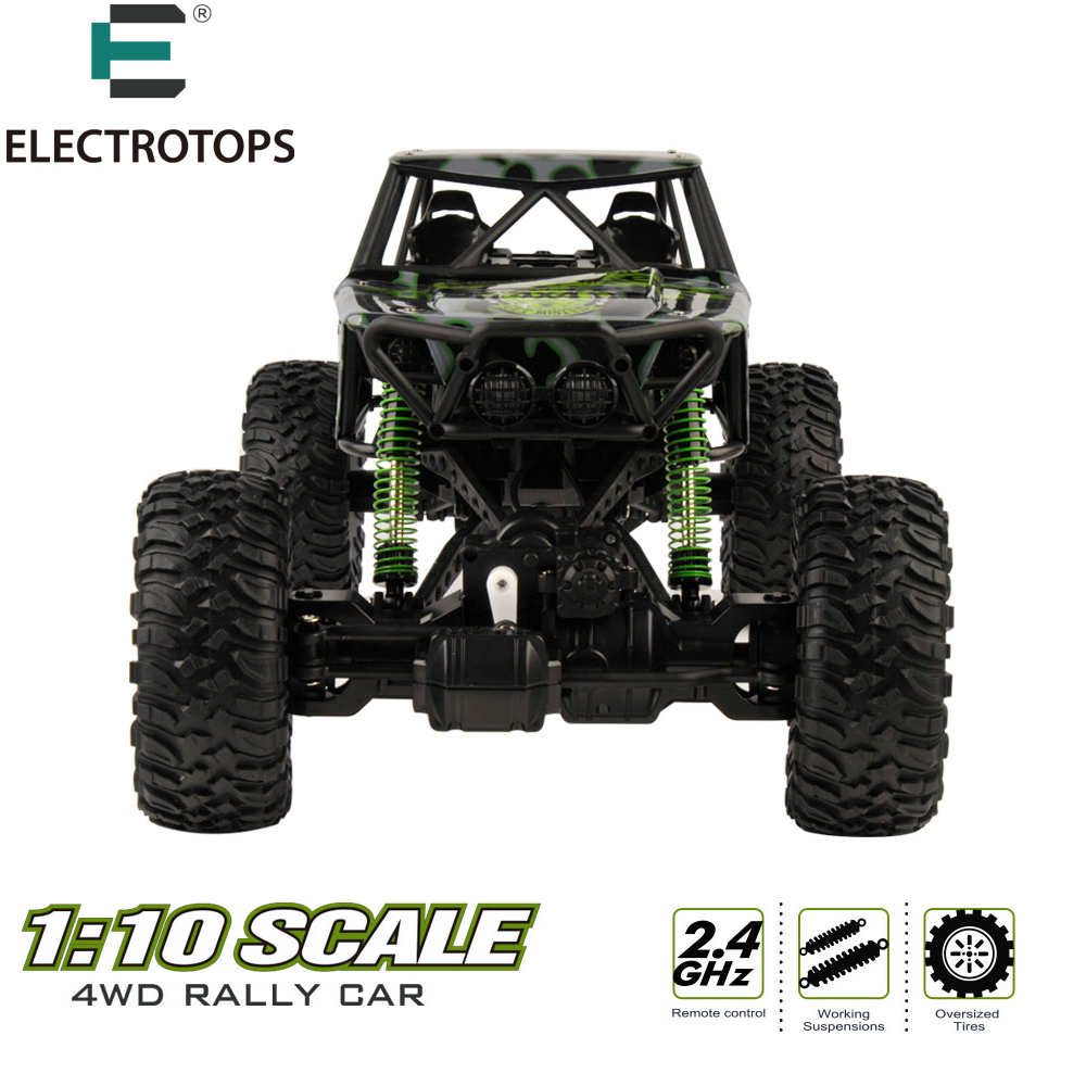 ET Original RC Car High Speed RC Buggy Monster Truck 1/10 2.4G Radio Control Off-Road RTR Updated Version HBP1001(China (Mainland))