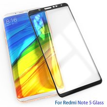 Buy WZH xiaomi redmi note 5 pro glass tempered full cover prime screen protector xiomi redmi note 5 glass film xaomi note5 64gb for $1.49 in AliExpress store