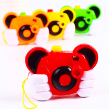 1 Piece Flash Cartoon Mini Projection Camera Toys Cute Animals Camera Educational Kid Digital Cameras Toys for Children Gifts