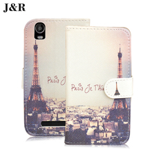 Stand cover for Prestigio Wize N3 5.0inch Leather case Painting cover For Prestigio Wize N3 NX3 NK3 3507 DUO Phone Bag&Cartoon