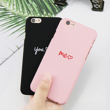 Buy Luxury Ultra Thin Hard PC Cases iPhone 6 6s 7 8 plus Candy Color Love Heart Back PC Cover iPhone X Phone Coque case for $1.23 in AliExpress store