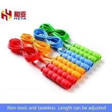 Children's Bodybuilding pupils Sports plastic handle rope skipping PVC rope skipping JUMP ROPES E.P.Material(China)