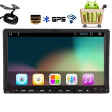 Android6.0 Car DVD Player Car Stereo with dvd GPS Navigation 2Din Headunit Radio Support Bluetooth/OBD2/Mirrorlink+Backup Camera