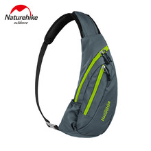 NatureHike Waterproof Nylon Single Shoulder Bag Chest Bag Running Messenger bag Pouch Bosom Bag Outdoor Sport climbing backpack