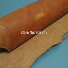 pick size 1.5 - 1.8 mm thickness cow skin Genuine Leather Crafts Accessories random color EH46(China)