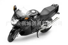 Free Shipping Jun Ji Automax 1:12 Honda HONDA CBR 1100XX alloy motorcycle black 6001 Wholesale Kids Gifts