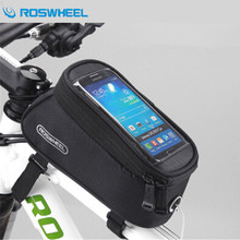 Buy ROSWHEEL Cycling Pannier MTB Road Bike Front Rack Bags 4.2/4.7/5.5 Inch Phone Bags Bike Bicicleta Ciclismo Bicycle Bag for $11.34 in AliExpress store