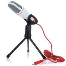 Original Yanmai Condenser Sound Microphone with Stand for PC Laptop Skype Recording