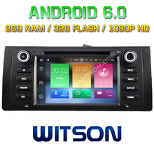 WITSON Octa-Core(Eight Core) Android 6.0 CAR DVD PLAYER FOR  BMW E39(1995-2003) 2G ROM 1080P TOUCH SCREEN 32GB Rom