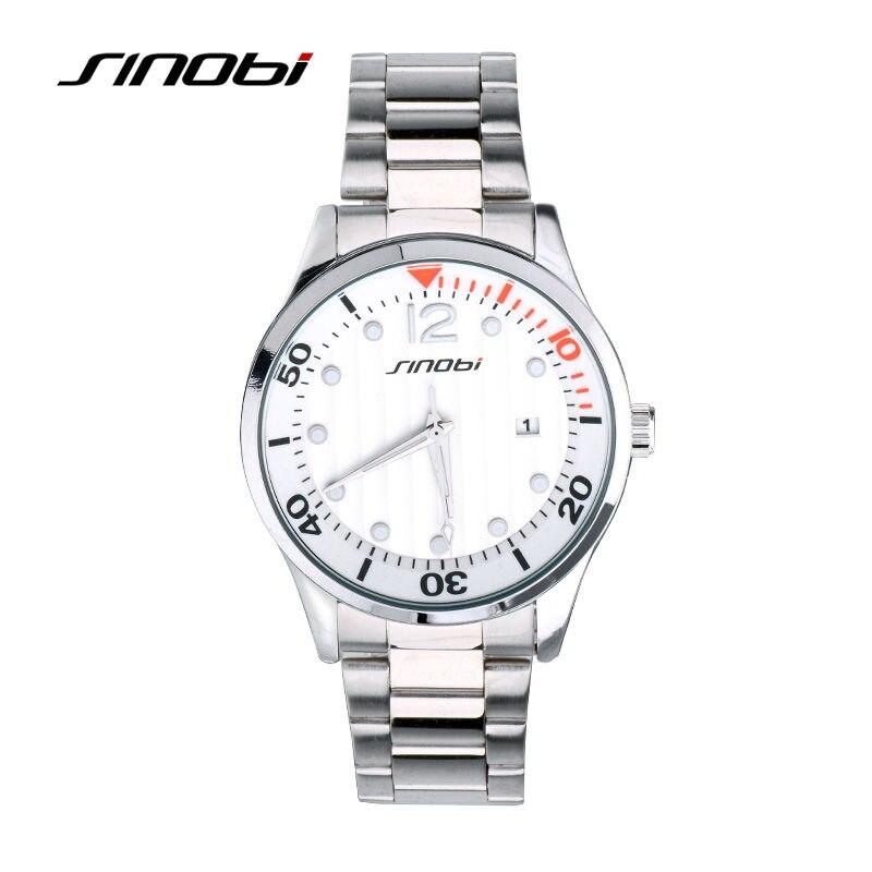 SINOBI Mens Quartz Watches Luxury brand mens fashion watch Auto calendar waterproof sports wrist watches relogio masculino 8132<br><br>Aliexpress