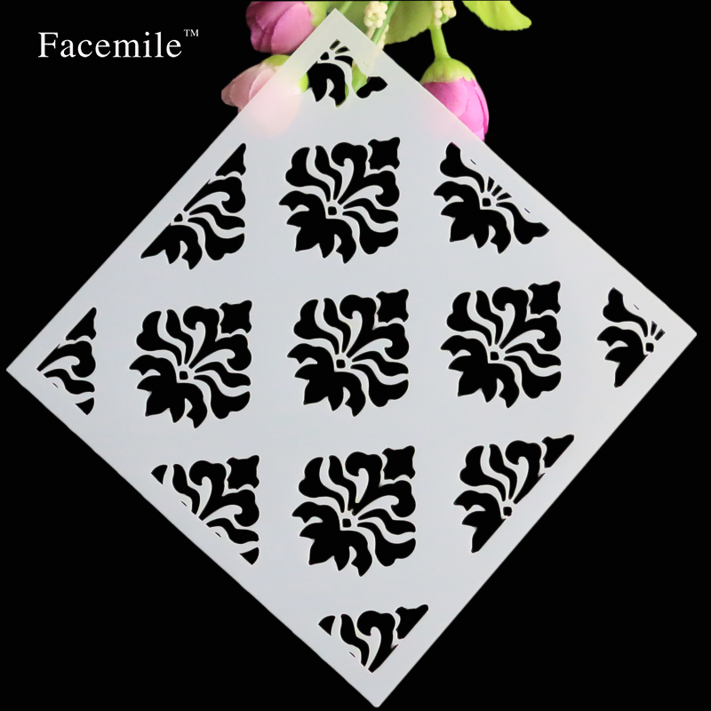 Flowers Scrapbooking Plastic Layering Stencil For Paint Ink Stamp Art Stamp Photo Album Decorative Embossing Free Shipping<br><br>Aliexpress