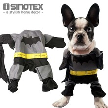 Batman Pets Dog Costumes Cool Pet Clothes Outfit Shawl Mantle Fancy Dress Clothing Cats T-shirts Apparel