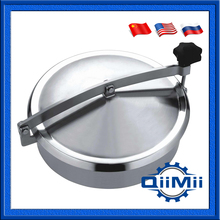 250mm Stainless steel circular manhole cover, stainless tank door