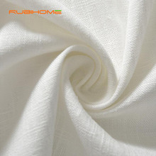 Wholesale(1 yard/lot) Synthetic Bamboo Linen Fabric Width 140m For DIY Handmade Clothes Dress Pants(China)