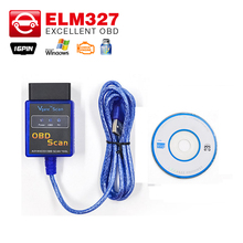 Vgate ELM327 USB/ ELM 327 bluetooth V1.5 OBD2 OBDII Diagnostic Tool Work for OBD2 Vehicle USB OBD2 Scan