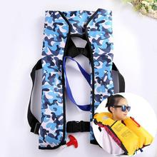 Automatic Inflatable Life Jacket Adult Swimwear Boating Swimming Water Sports