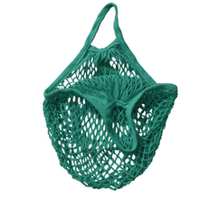 Reusable String Shopping Grocery Bag Shopper Tote Mesh Net Woven Cotton Bag(China)
