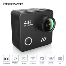 DBPOWER L1040 4K Sport Camera Wifi 4K/24FPS Waterproof to 30m Action Cam with 2.0inch Lcd Screen 3D Anti-Shake Go Helmet Cam Pro