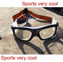 Prescription airsoft sports goggles black color for adult can put diopter lens for soccer basketball trainning(China)