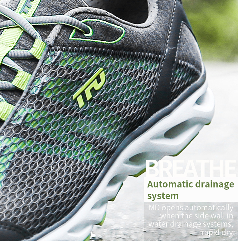 TFO Outdoor Running Shoes For Man Summer Light Weight Mesh Breathable Sneakers Lovers Outdoor Sport Shoes Lace-Up 851708 10