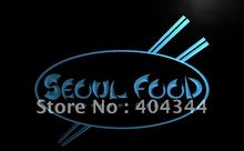 LB972- Seoul Food Korean Restaurant NEW LED Neon Light Sign(China)