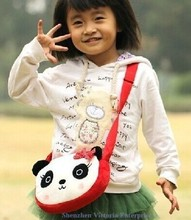 Kawaii Panda Plush Children Kid's Satchel School & Baby Kindergarten BAG Pack Shoulder Satchel BAG Case Messenger BAG Pack