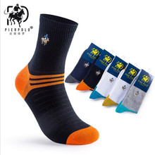 Hot sale!men's socks famous brand 5 pairs/lot autumn-winter fashion men socks cotton Casual socks/High quality Male socks(China)