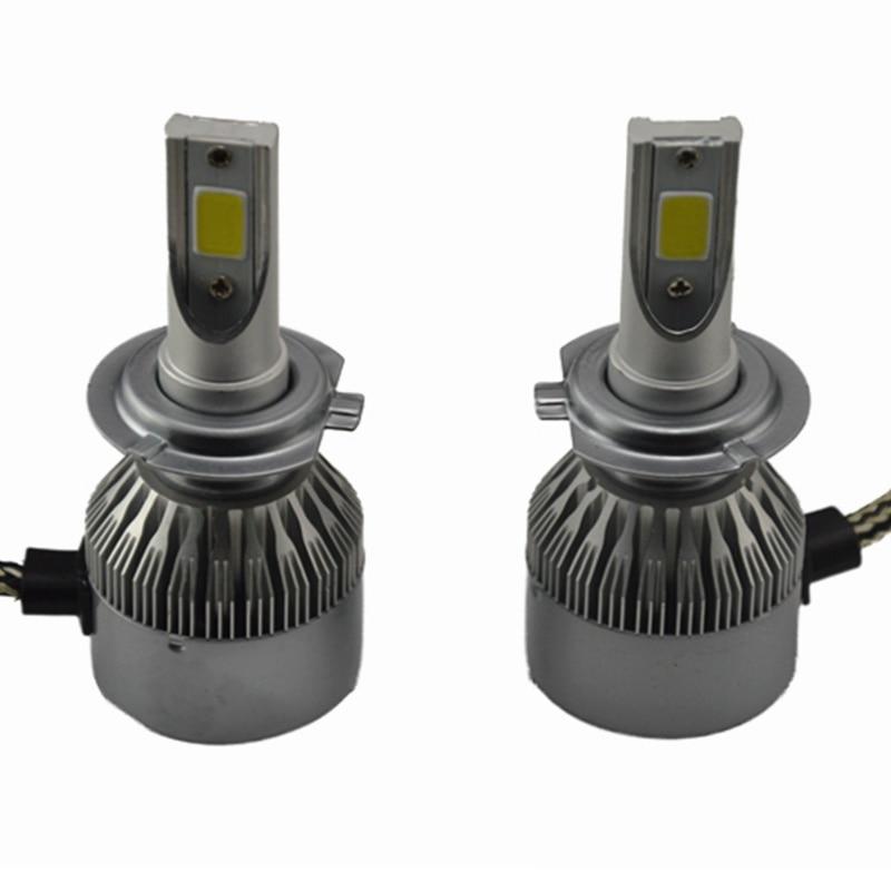 2x H1 H3 H4 H7 H11 H13 LED Head Light H7 LED 110W 6000K 12V/24V 9200LM Car Xenon White Headlight Lamp High Low Kit Globes Bulbs<br><br>Aliexpress