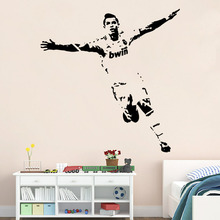 football player Pattern wall stickers living bedroom decoration diy vinyl decals mual art poster 55x75cm CP0412