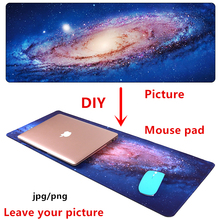 Large DIY Mouse pad mat gaming Custom mousepad L XL Anime picture customize for CS GO Dota night starry sky game mat pad(China)