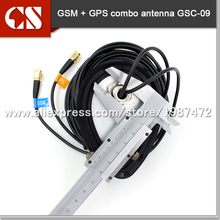 wireless outdoor GPS GSM Antenna,Combination Antenna ,3m Cable SMA Male Connector,WATERPROOF
