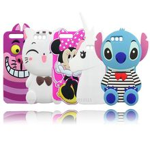 Cartoon Case For Huawei P10 New 2017 Stitch Unicorn Minnie Mouse Cat Bunny Bear 3D Phone Cover Cases For Huawei Ascend P10