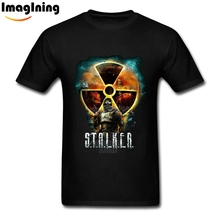 New Man's 3D Print Cool Game Stalker T Shirts Awesome 100% Cotton Over Size Fashion Tee Shirt Tops(China)