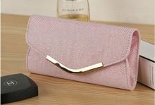 Hot Casual Women Evening Bag Day Clutch Ladies Wedding Party Handbags Women's Purse Wallets Pink Golden Colors choose