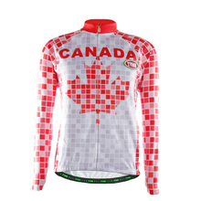TVSSS 2017 New Arrival Summer Cycling Jersey China Team Clothes Mountainbike Wear Clothing With Maple Leafs Of Canada