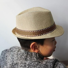 Hot New 1 pc Baby Hat Cool Baby Cap Kid Hat Jazz Cap For Boy Girl Hat  born Photography Prop Trilby