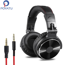 Over Ear DJ Stereo Monitor Headphones Professional Studio Monitor&Mixing Telescopic Arms With Scale 50mm Neodymium Drivers