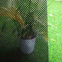 Black mesh glass foil mesh window stickers office glass stickers translucent window film white outlets ##(China)