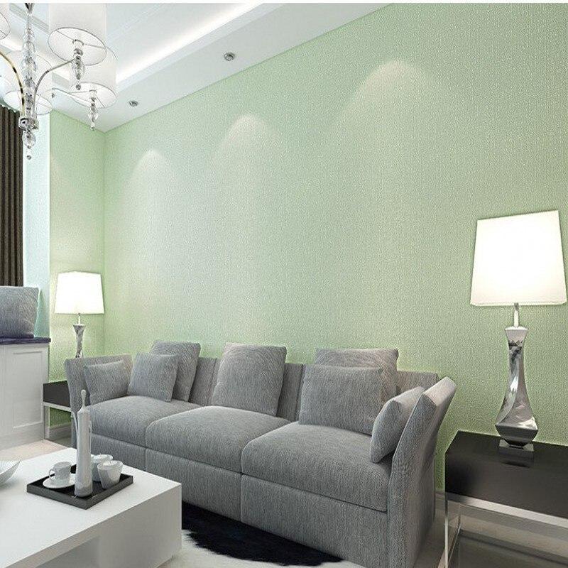 Free Shipping Custom non - woven plain color imitation woven wallpaper light-colored living room bedroom study wallpaper<br>