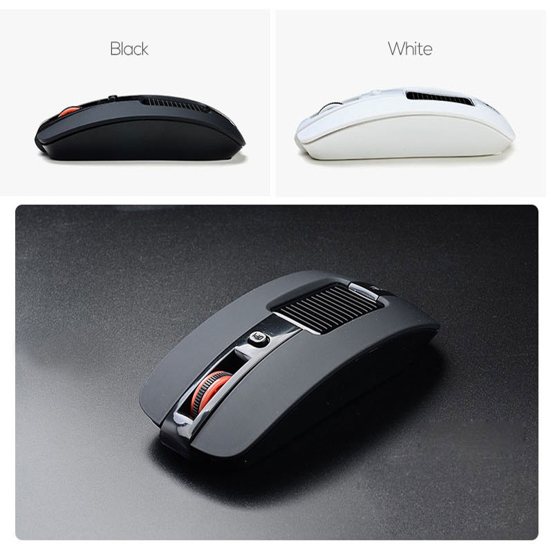 2016 Blue Light 2.4GHz Wireless Mouse Portable Cordless Game Mice for Computer PC Laptop Desktop Magic Mouse Right-handed Design