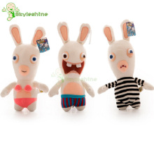 Skyleshine 18cm Rayman Raving Rabbids Kids Babys Plush Toys Wedding Decorations Doll Valentines Day Gifts For Girls#ML0183