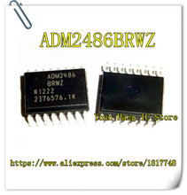 5PCS/LOT ADM2486BRWZ ADM2486BRW ADM2486 SOP16 High speed isolated RS-485 transceiver chip(China)