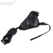 PU Leather Camera Hand Wrist Strap Belt 1/4 Screw Mount Base Canon Nikon Sony Pentax Olympus Panasonic Fujifilm DSLR