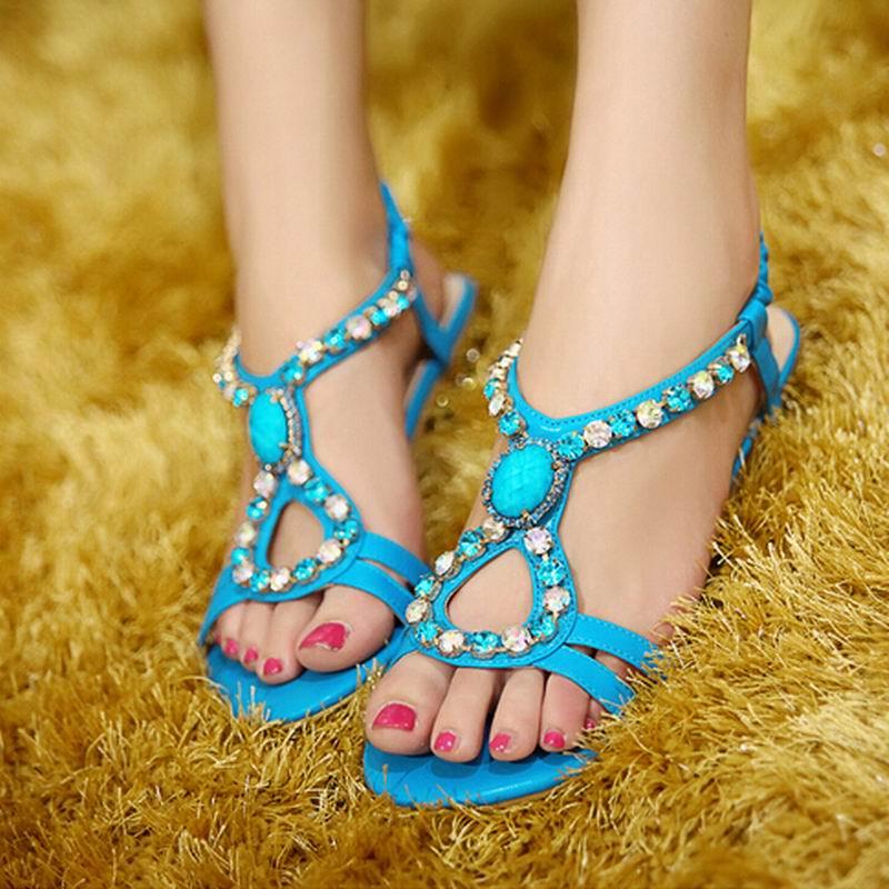 2017 New Shoes Woman Women Sandals Flip Flops Slippers Sandalias Feminino Platform Sandals Summer Style With Crystal CC-2<br><br>Aliexpress