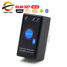 V1.5 Super MINI ELM327 Bluetooth ELM 327 Version 1.5 OBD2 / OBDII for Android Torque Car Code Scanner FREE SHIPPING