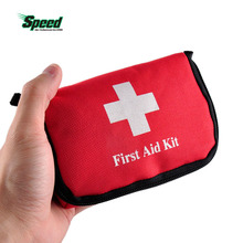 Emergency Survival Kit Travel Sports Home Medical Bag Outdoor Car Safe Emergency Survival Mini First Aid Kit Red Colors Empty(China)