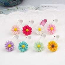 Acrylic candy Daisy Sun flower boutique children baby adult headdress hairpin clips  hair accessories