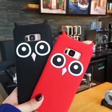 Note 8 Case Fashion Cartoon Owl Silicone Shockproof Case For Samsung Galaxy S8 Plus S7 S6 Edge S5 S4 Note 4 5 8 J2 J5 J7 Prime(China)