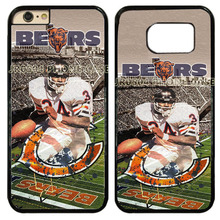 Chicago Bears Walter Payton Hard Cell Phone Case Cover Fits For iphone 5 5s 6 6s 7 8 6 plus 7 8 plus Touch5 6 iphone X #T0244(China)