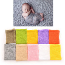 Newborn Handmade Photography Wraps Flower Band New Arrival Mohair Baby Photography Props Baby Photo Props Accessories